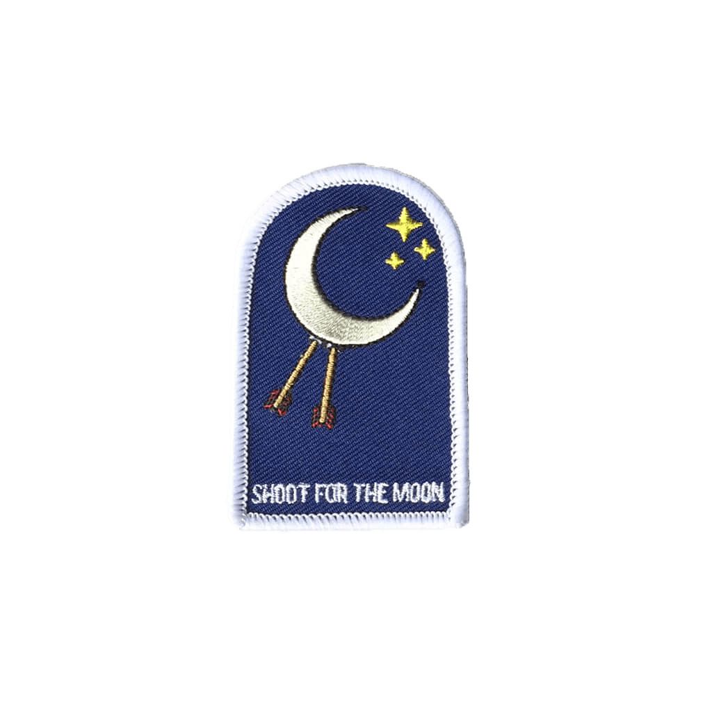 Shoot For The Moon - Iron & Stitch