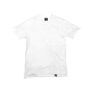 White Canvas Tee - Iron & Stitch