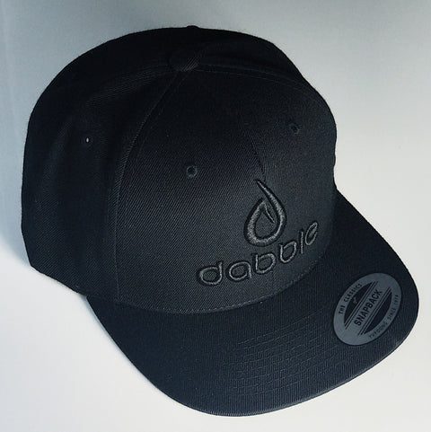 Dabble Brand and Logo Snapback(Black)