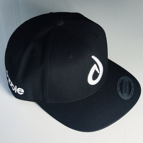 Dabble Logo Snapback(Black/White)