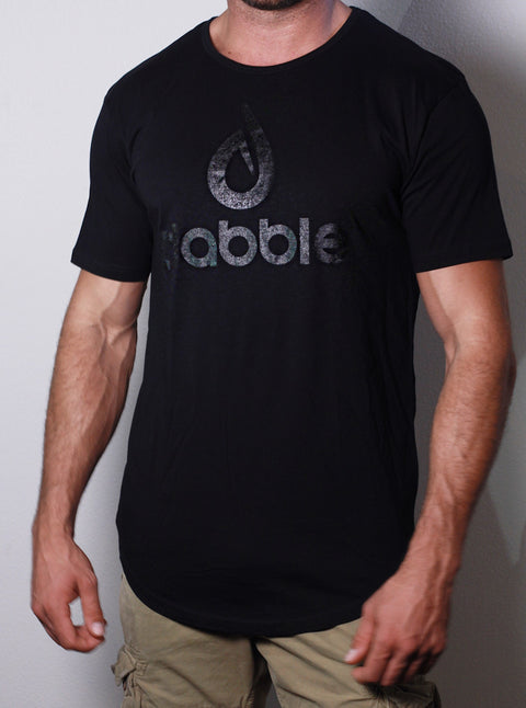 Dabble Logo Long Tee (Black)