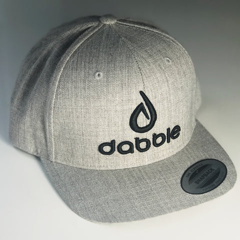 Dabble Brand and Logo Snapback(Grey/Black)