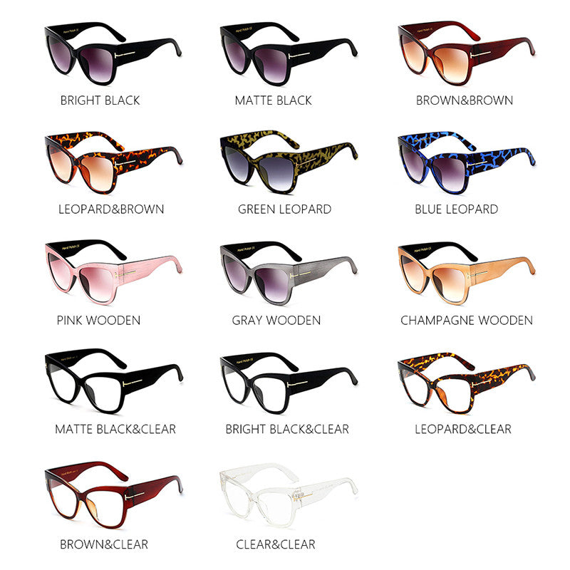 Oversized Gradient Frames