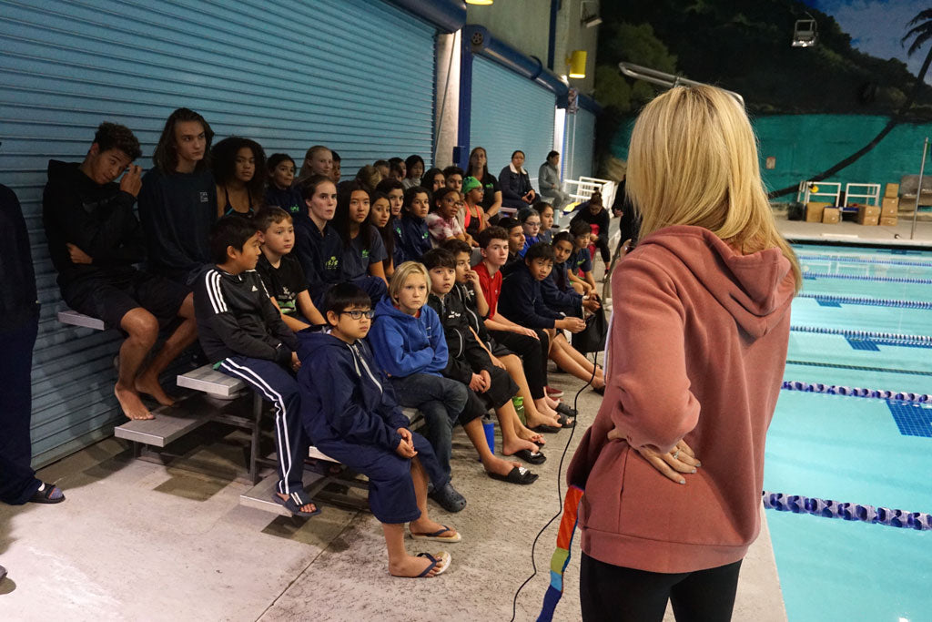 Motivational Speech Olympian Kaitlin Sandeno Laguna Fin Co Oasis
