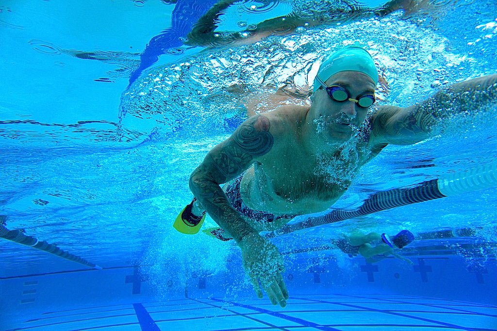 Bryan Mineo Swim Mechanic Laguna Fin Freestyle Swimmer Trainer
