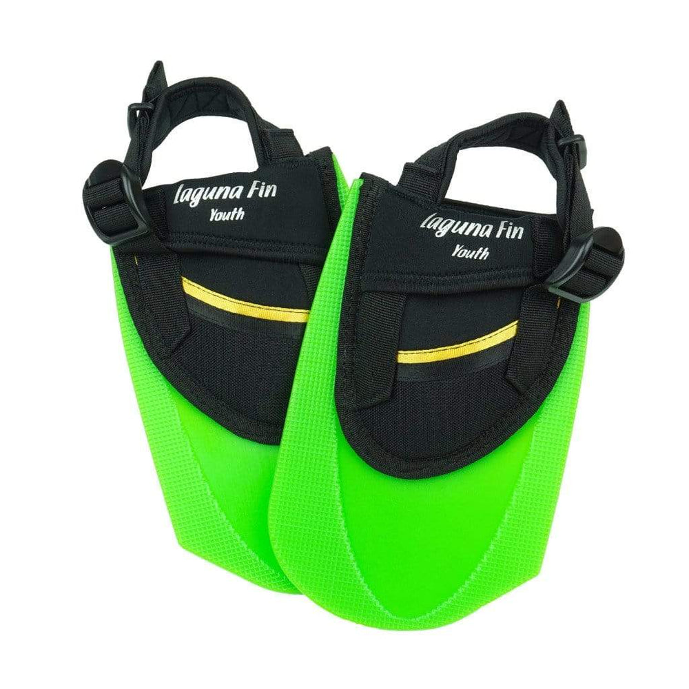 Laguna Fin Co. Youth Fin - Neon Green