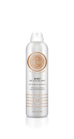 Burst Dry Texture Spray - Transformational dry texture spray creates instant volume, shape, and texture.