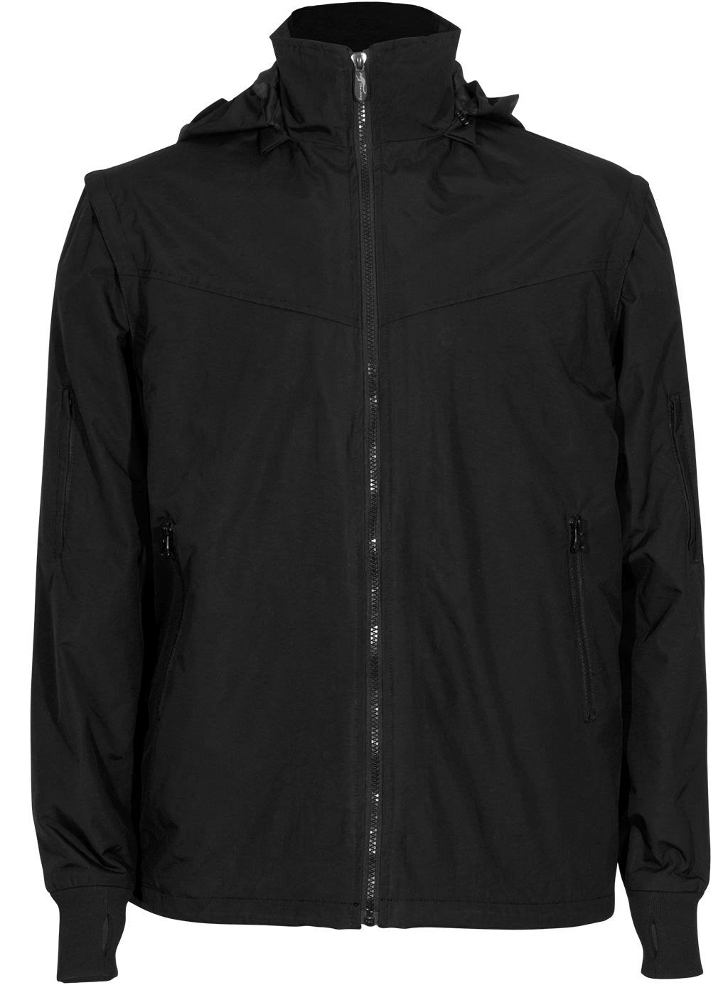 Joey black soft shell travel jacket