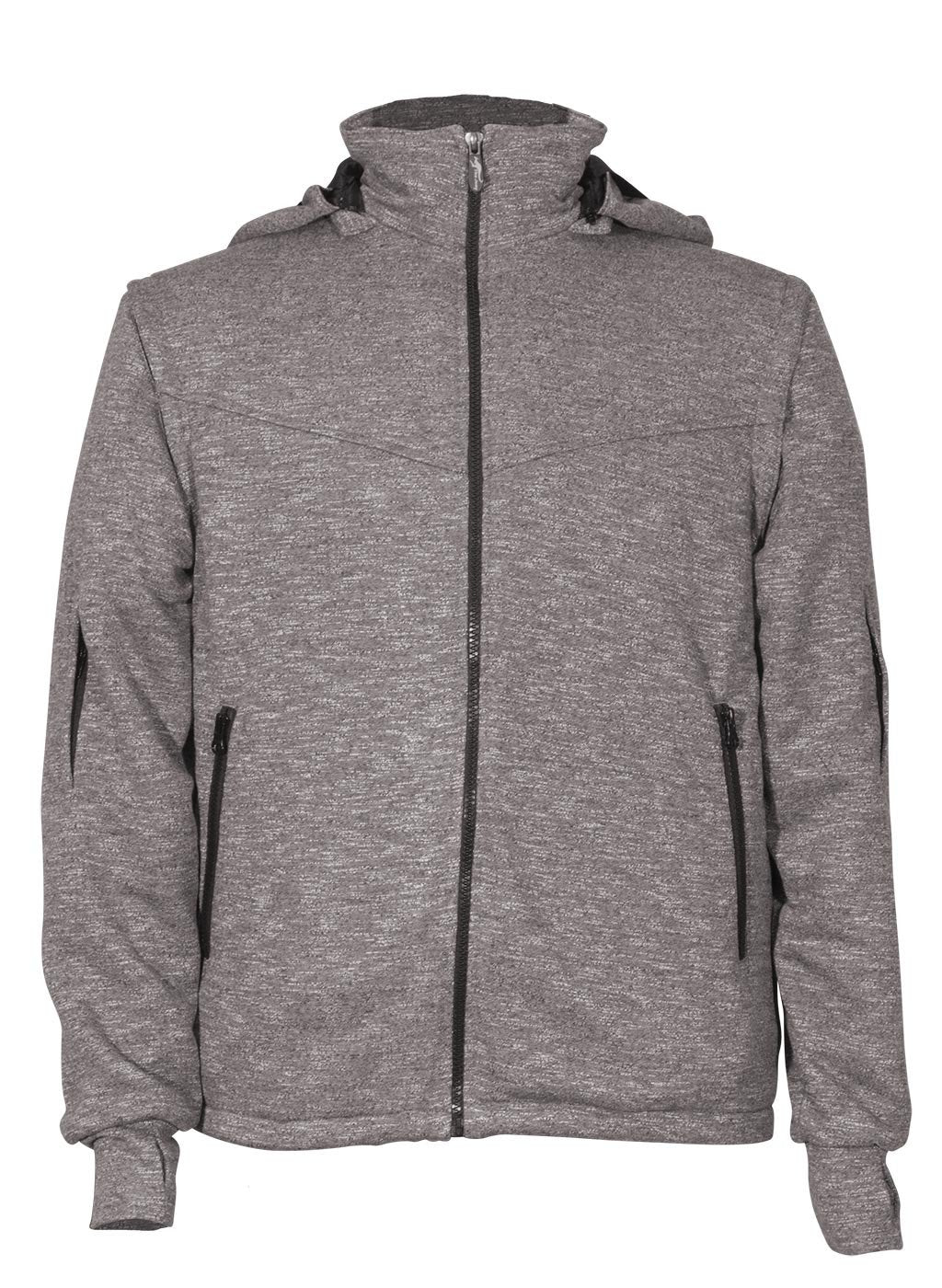 Joey dark grey sweatshirt front