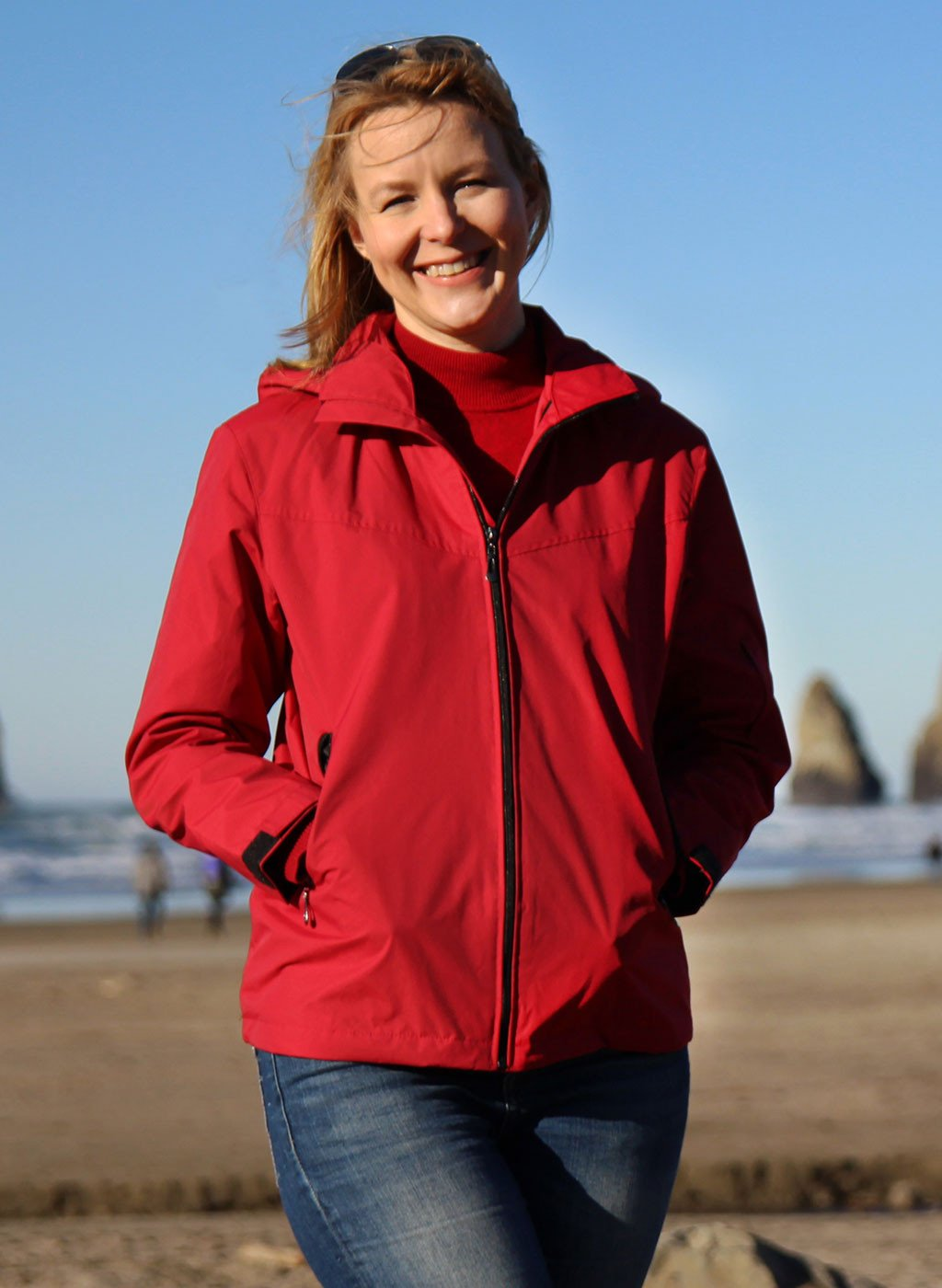 Travel jacket Red