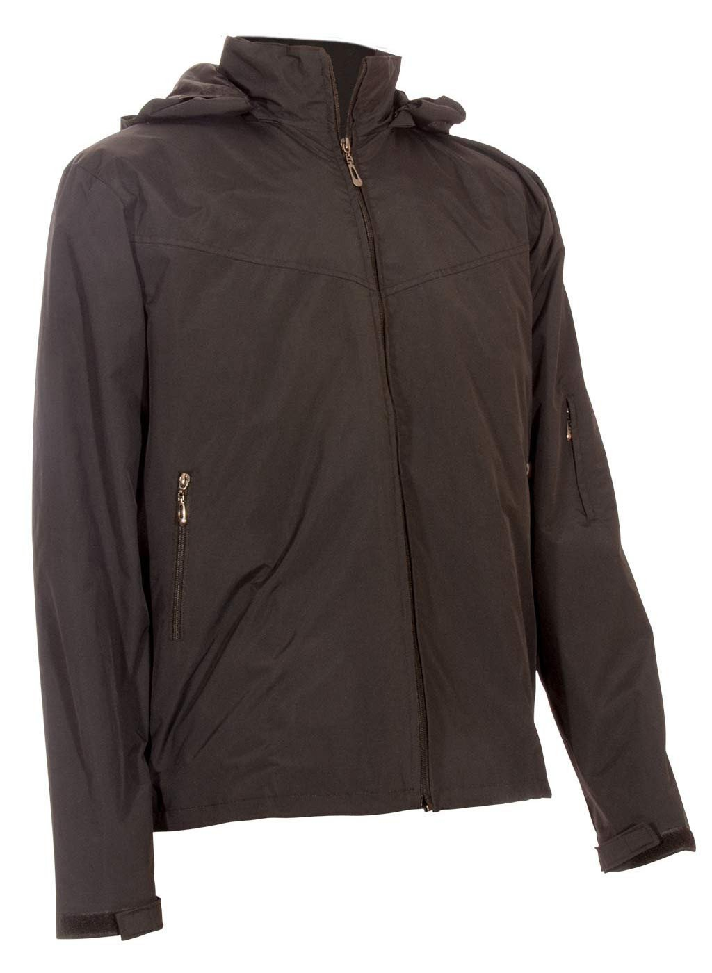 Brown Travel Jacket with lots of pockets