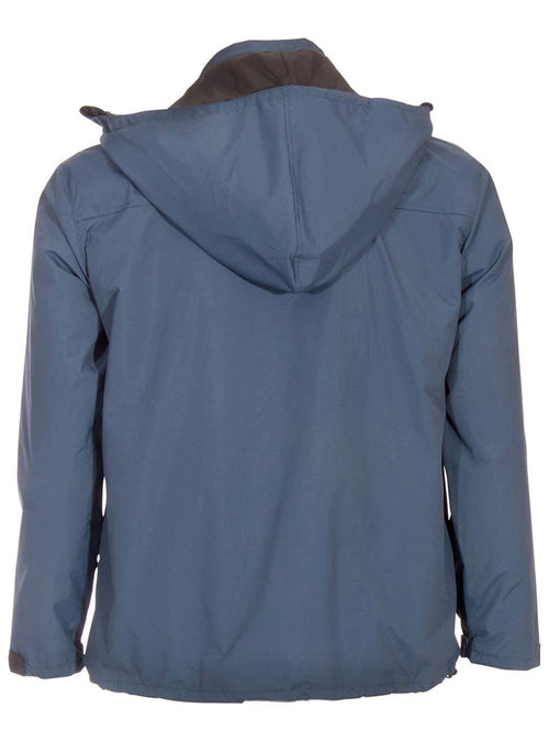 Blue Canvas Travel Jacket | | Global Travel Clothing
