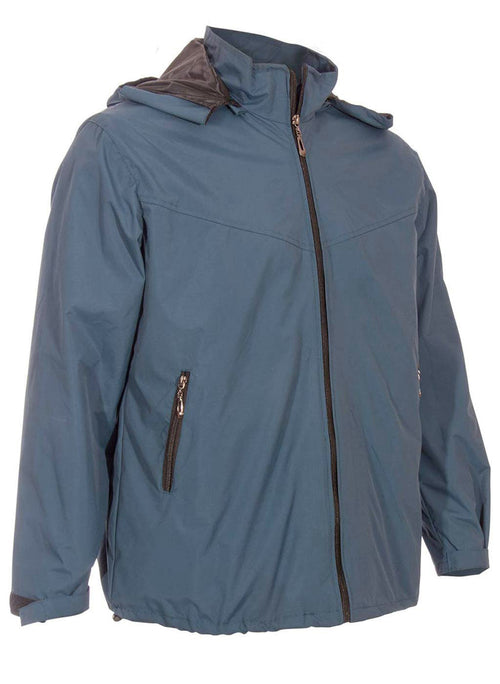 Blue Canvas Travel Jacket | | Global Travel Clothings