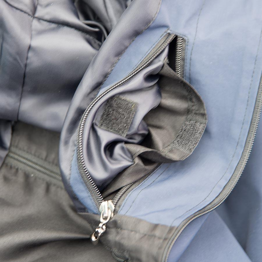 Travel Jacket with Lots of Pockets (Blue Canvas)