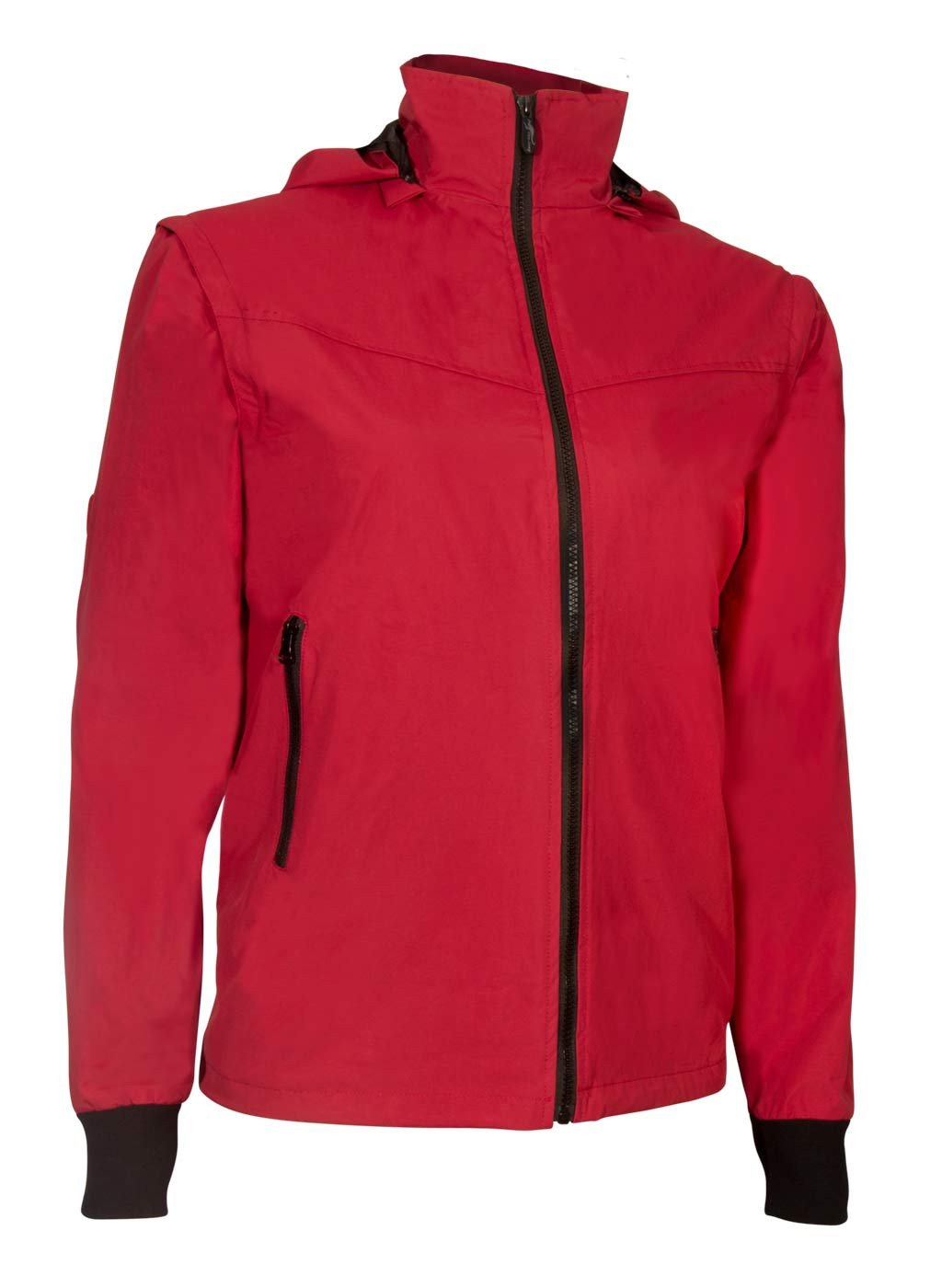 Red Womens Soft Shell Travel Jacket | Global Travel Clothings
