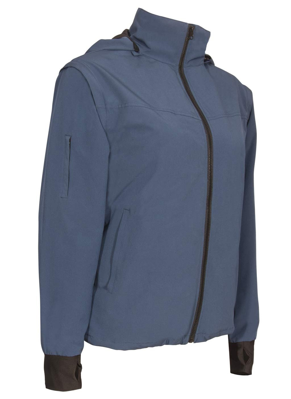 womens Travel Jacket Blue