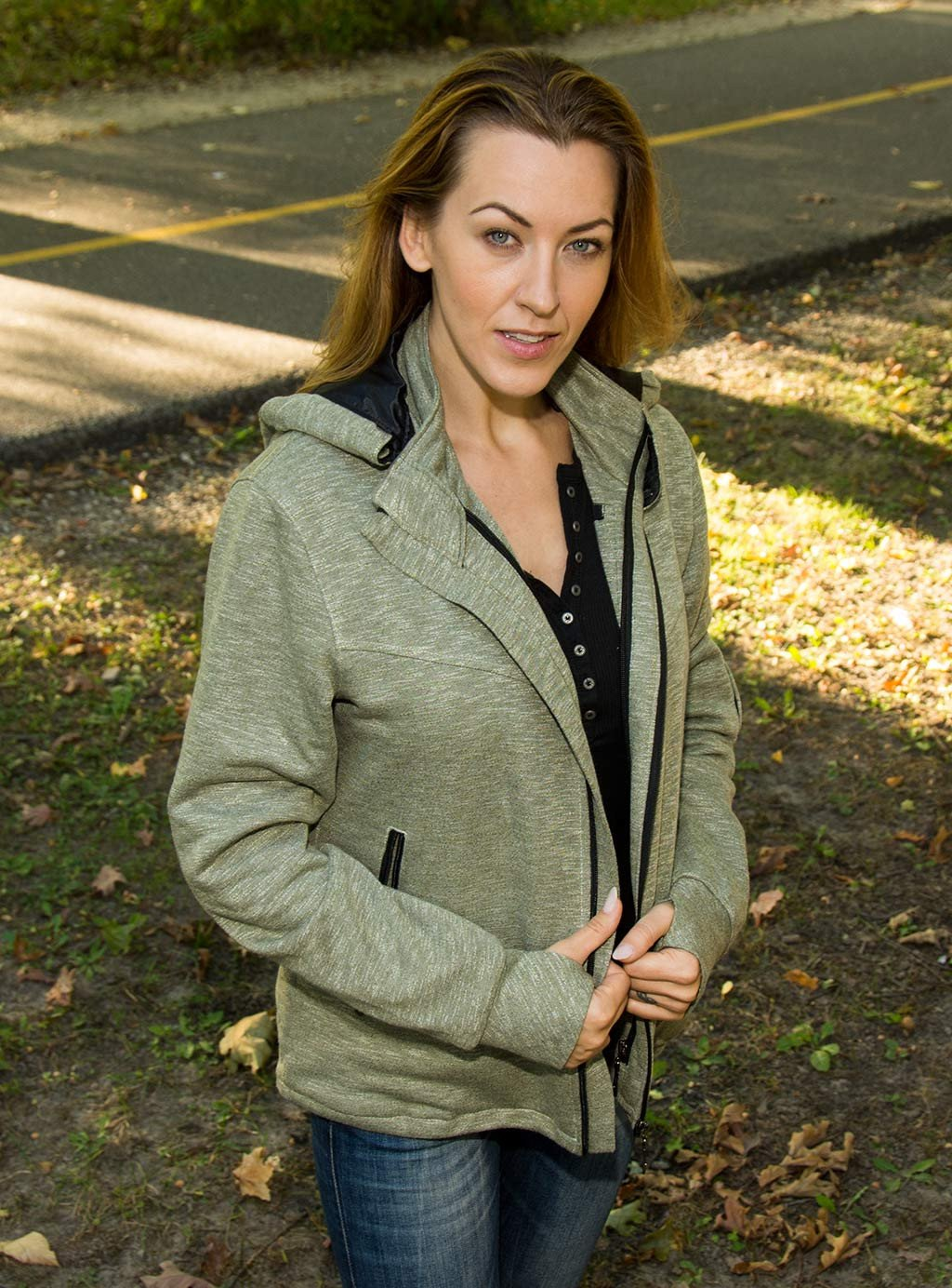 Travel Jacket with lots of pockets