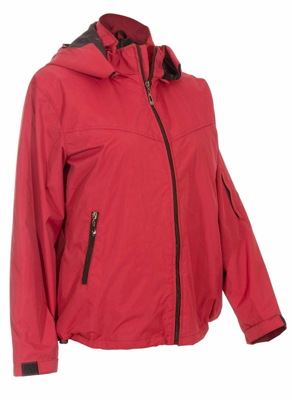 Red Womens Travel Jacket | Global Travel Clothings