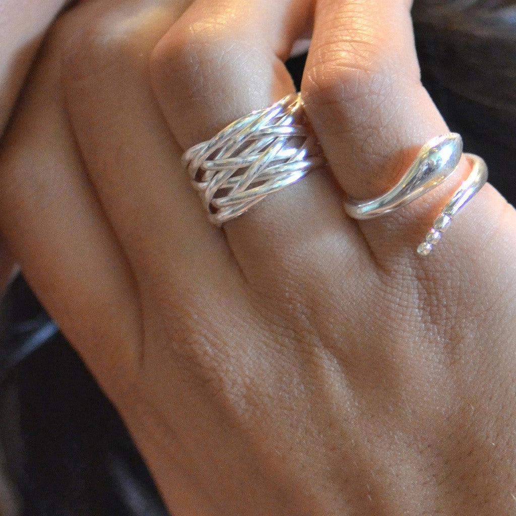 Kaisa Sterling Silver Ring
