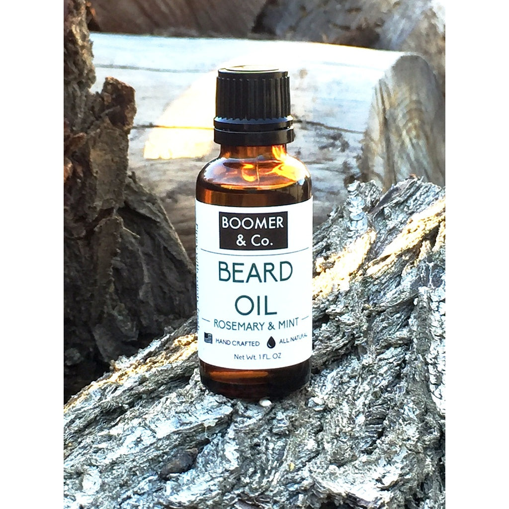 Rosemary and Mint Beard Oil