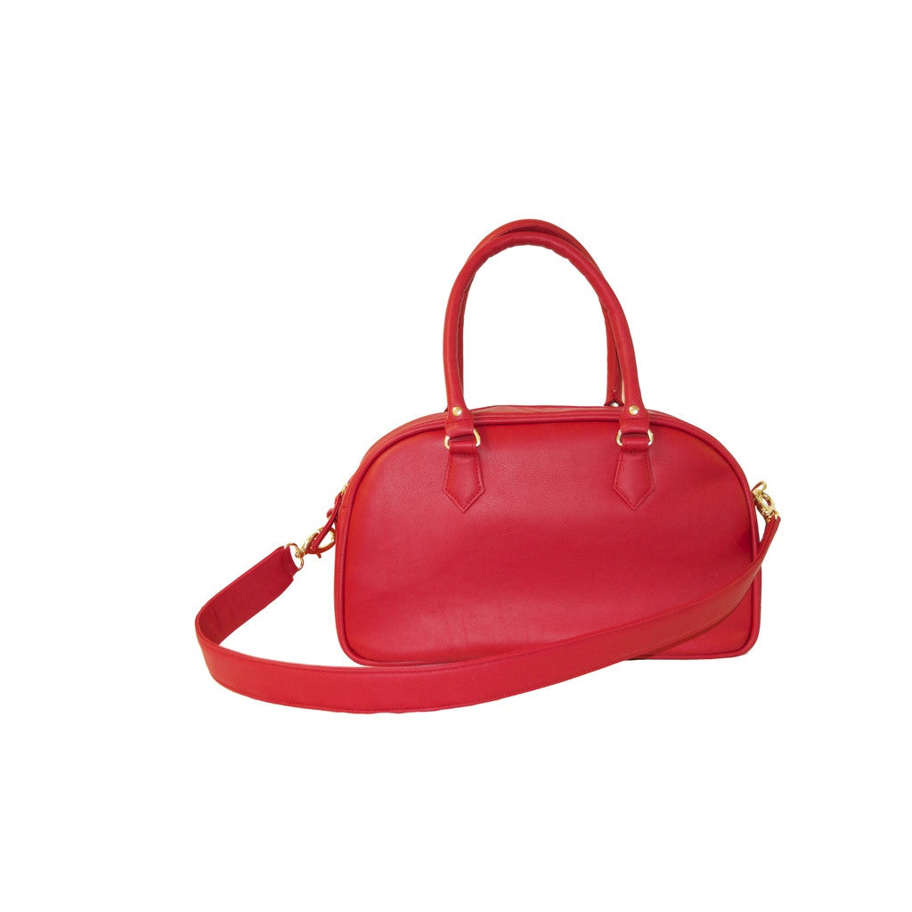 Candi Satchel - Red