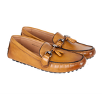 Diego - Driving Moccasin In Tan Calf