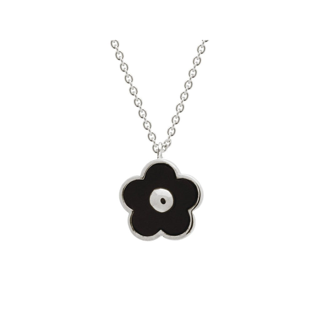 Midnight Flower Necklace