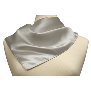 Silk Feel Neckerchief Square Scarf