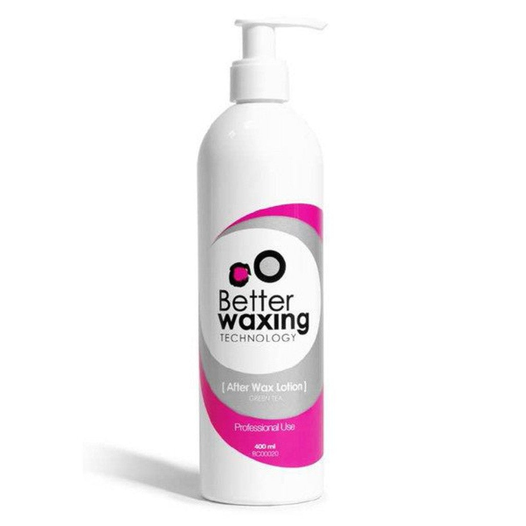 After Wax Lotion Green Tea | Better Waxing | Professional | 400ml