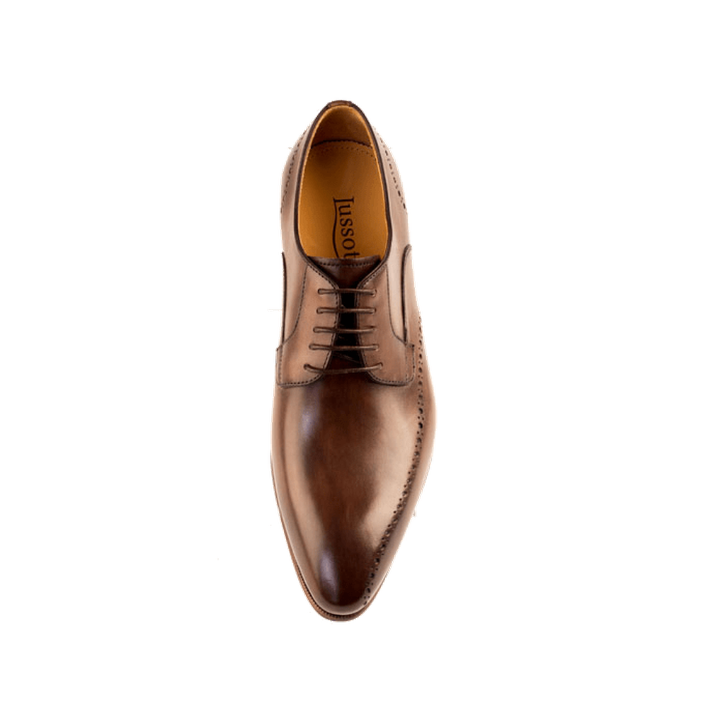 Nero - Derby Shoe In Dark Brown Calf Leather