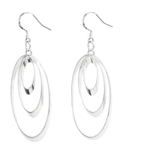 Vortex Sterling Silver Earrings