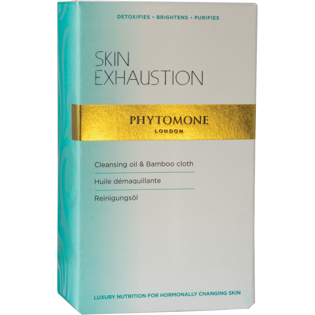 Skin Exhaustion Cleansing Oil 50ml + FREE Bamboo Cloth