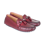 Diego - Driving Moccasin In Burgundy Calf