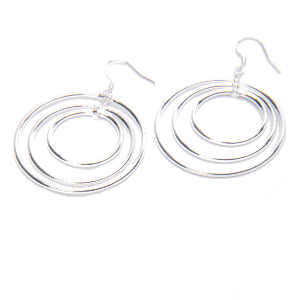 Vitru Sterling Silver Earrings