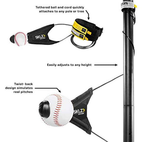 Hit-A-Way Swing Trainer for Baseball and Softball