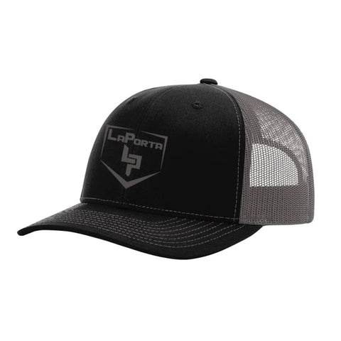 Black/Charcoal Richardson LaPorta Hat