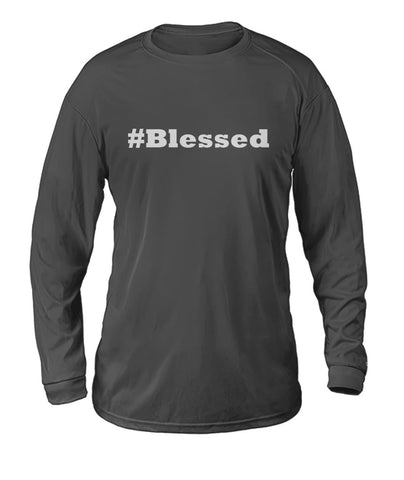 #Blessed Dry Sport Long-Sleeve