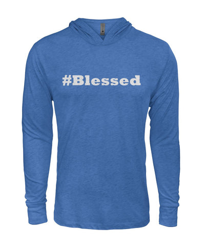 #Blessed Hooded Long Sleeve