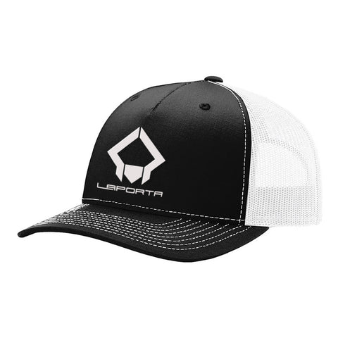 Laporta Sports Black & White Hat