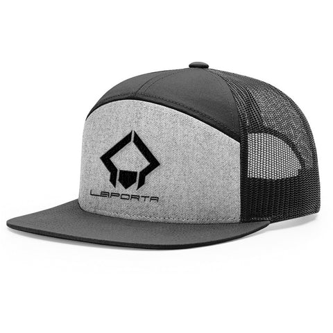 Laporta Sports Heather Grey & Black Hat