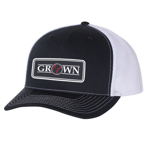 Grown Baseball Patch Navy/White Hat