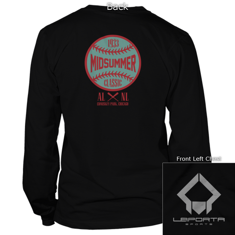 Midsummer Classic Colored Back Design Long Sleeve