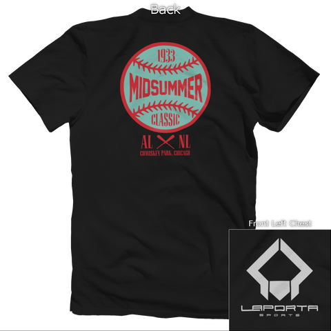 Midsummer Classic Colored Back Design Apparel