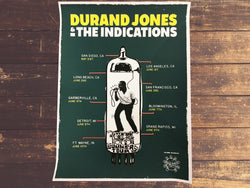 <b>DURAND JONES & THE INDICATIONS</b><br>Summer 2017 Tour Poster