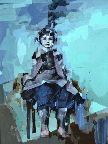 I'm Going to Be a Pilot by Melinda Matyas, Painting at Art Acacia Gallery & Advisory