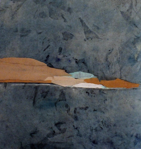Paper Landscape 9 Mixed-media Marilina Marchica