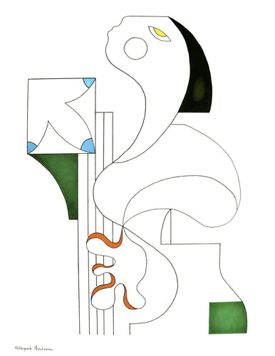 L'Artiste Musicale by Hildegarde Handsaeme, Drawing at Art Acacia Gallery & Advisory