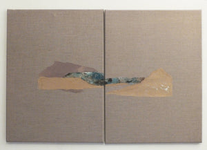 Paper Landscape 8 Mixed-media Marilina Marchica