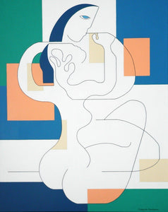 Sans Frontières by Hildegarde Handsaeme, Painting at Art Acacia Gallery & Advisory