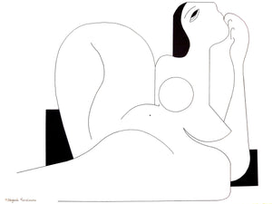 Feminine Concept 2119 by Hildegarde Handsaeme, Drawing at Art Acacia Gallery & Advisory
